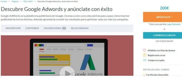 Descubre Google Adwords y anúnciate con éxito